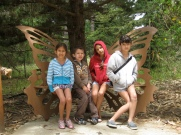 Visiting the Butterfly sanctuary in Monterey