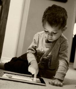 Little Man Playing