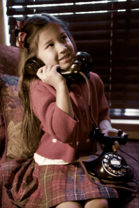Mouse on the phone