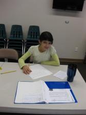 Writing Her Speech