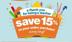 Teacher Discount