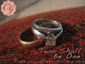 Two Shall Be One