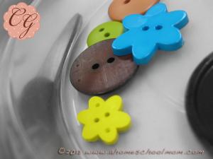 Button Necklaces #6