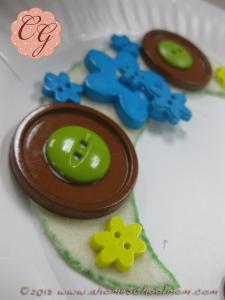Button Necklaces #8