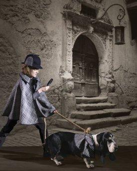 Detective & Hound Costume