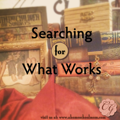 Searching For What Works