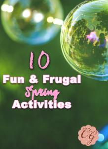 10 Fun & Frugal Spring Activities