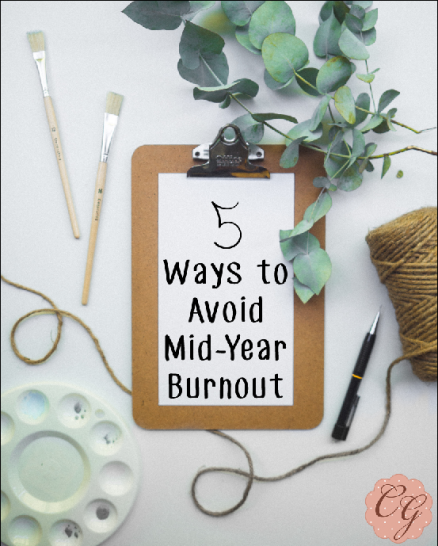 Five Ways to Avoid Mid-Year Burnout